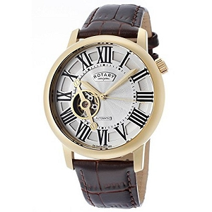 Rotary Men's Gold Tone Automatic Watch